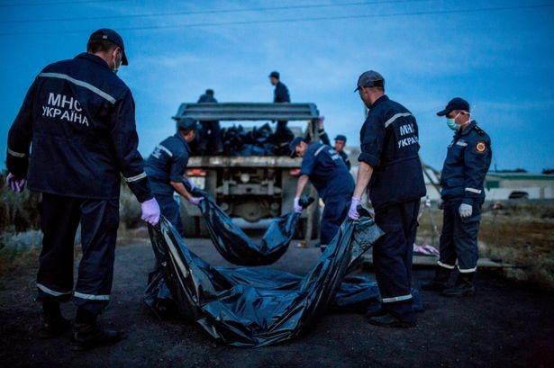 Trước sức ép từ cộng đồng quốc tế, 5 ngày kể từ khi thảm kịch MH17 xảy ra, phiến quân ở miền đông Ukraina đã chấp thuận để tàu hỏa chở thi thể nạn nhân rời Torez (miền đông) và đến thành phố Kharkov do chính phủ kiểm soát. Sau đó người ta vận chuyển các tử thi sang Hà Lan bằng máy bay và bàn giao cho các chuyên gia pháp y.