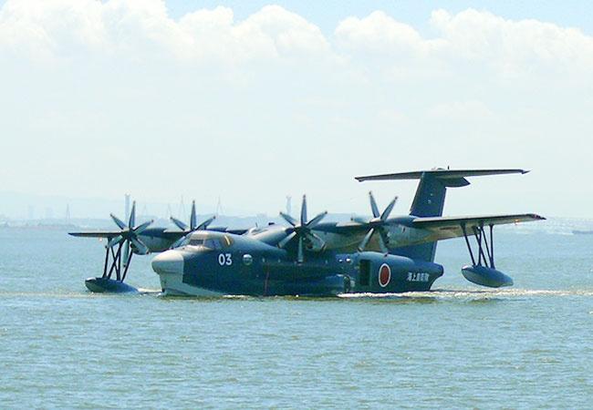 Trung Quoc san xuat may bay do bo lon nhat the gioi hinh anh 1 Thủy phi cơ US-2 của Nhật Bản hiện là máy bay đổ bộ lớn nhất thế giới. Ảnh: India Today