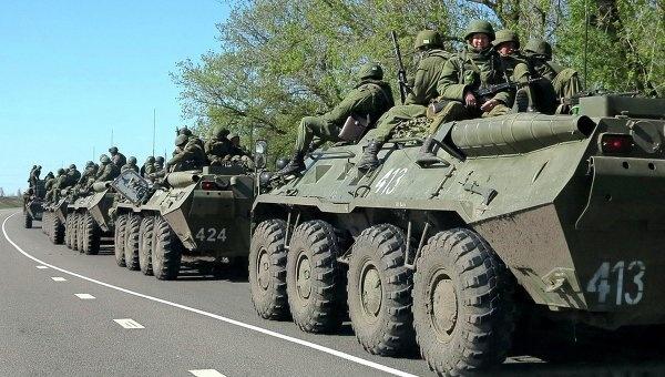 Ukraine tuyen bo da dung do voi trinh sat den tu Crimea hinh anh