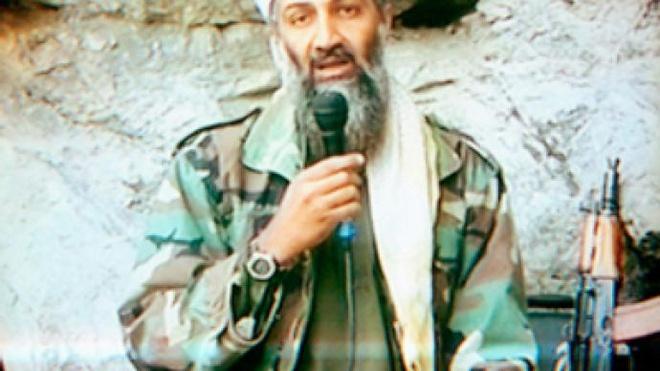 Đài truyền hình Al Jazeera phát sóng những lời cảnh báo của trùm khủng bố Osama bin Laden sẽ tấn công nước Mỹ. Ảnh: RT