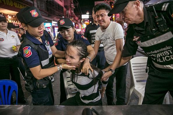 Canh tuong truy quet gai ban dam o Thai Lan hinh anh