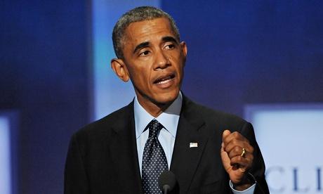 Hon 40 nuoc muon diet Nha nuoc Hoi giao hinh anh 1 Tổng thống Obama chủ trì phiên họp của Hội đồng bảo an. Ảnh: REX