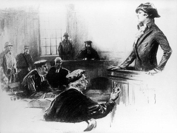 Cuoc doi song gio cua nu diep vien huyen thoai hinh anh 8 Năm 1917, Mata ra hầu tòa vì bị buộc tội làm gián điệp cho Đức. Tòa tuyên án xử tử Mata Hari vào ngày 15/10/1917. Một nhà báo Anh miêu tả Mata khi đó tỏ ra
