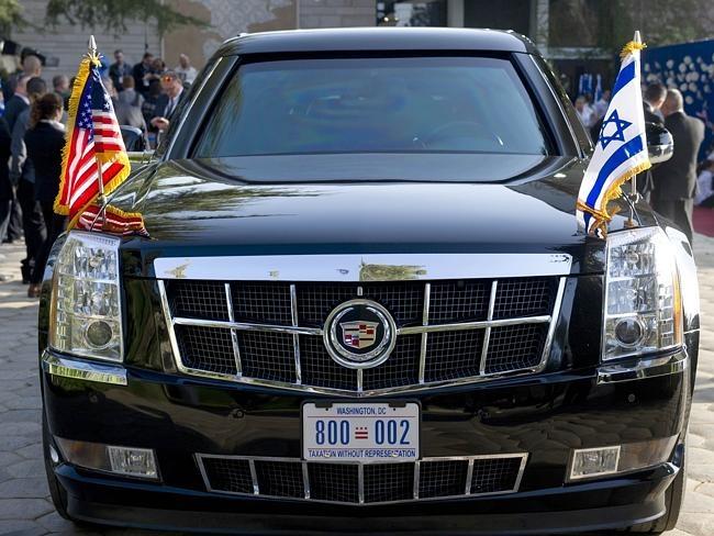 Bong dung mat viec sau mot ngay bao ve tong thong My hinh anh 2 Xe limousine tối tân chuyên chở Tổng thống Mỹ. Ảnh: AFP