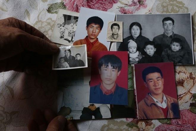 Di ảnh của Hugjiltu, người bị kết án tử hình oan. Ảnh: CRI