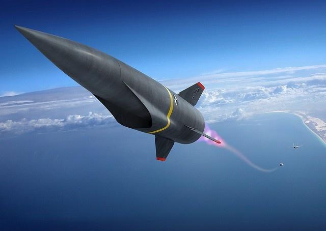 Trung Quoc vua thu nghiem ten lua sieu thanh de doi pho My hinh anh 1 Hình minh họa một tên lửa siêu thanh. Ảnh: engineering.com