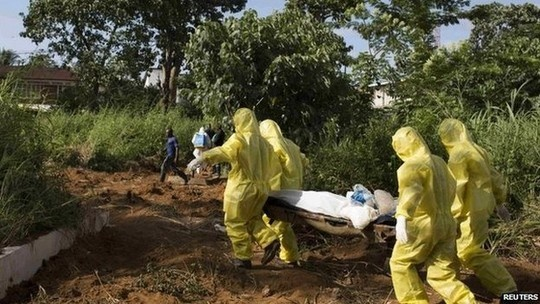 Phat hien thi the nhiem Ebola o mo kim cuong hinh anh