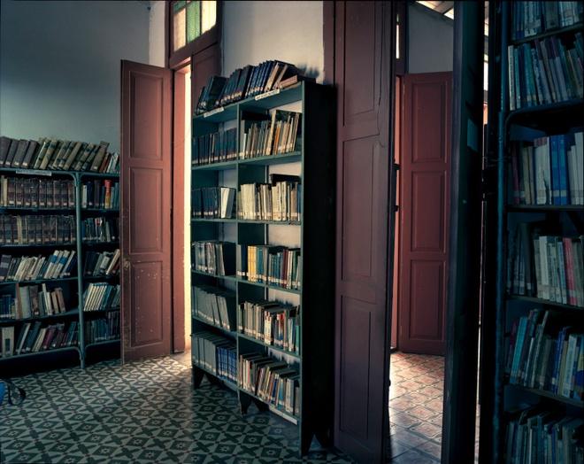 Cuoc song doi thuong o Cuba khi bi My cam van hinh anh 12 Thư viện ở thị trấn Jaguey Grande, tỉnh Matanzas. Các học sinh ở những trường học xung quanh thường đến đây làm bài tập sau giờ học.