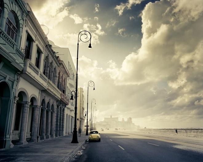 Cuoc song doi thuong o Cuba khi bi My cam van hinh anh 5 Con đường sạch, đẹp nổi tiếng nhất ở thủ đô Havana, đường Malecon.