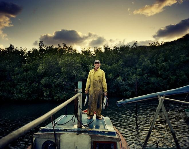 Cuoc song doi thuong o Cuba khi bi My cam van hinh anh 7 Ngư dân Jesus với thành quả là những chú cá vừa đánh bắt.