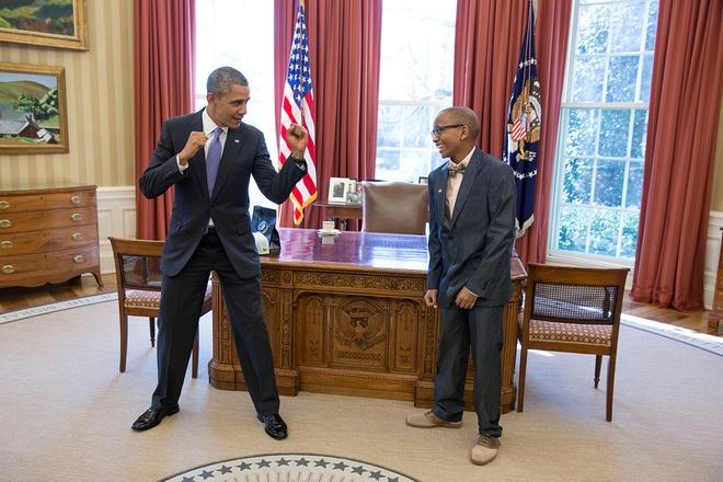 Nhung hinh anh dang nho nam 2014 cua Tong thong Obama hinh anh 4 Tổng thống Obama