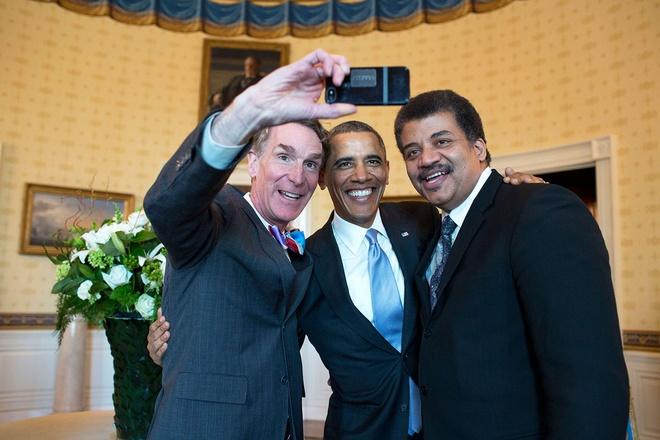 Nhung hinh anh dang nho nam 2014 cua Tong thong Obama hinh anh 6 Tổng thống Obama chụp ảnh