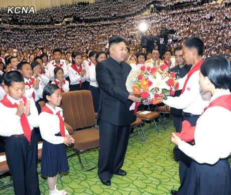 Kim Jong Un mung sinh nhat nhu the nao? hinh anh