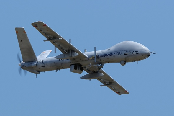 Nhung may bay khong nguoi lai uy luc nhat hanh tinh hinh anh 4 UAV Hermes 900 của Israel. Ảnh: UAV Global