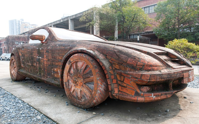 Loat anh an tuong nhat tuan (2 - 7/3) hinh anh 8 Với niềm đam mê xe hơi cộng với khả năng sáng tạo