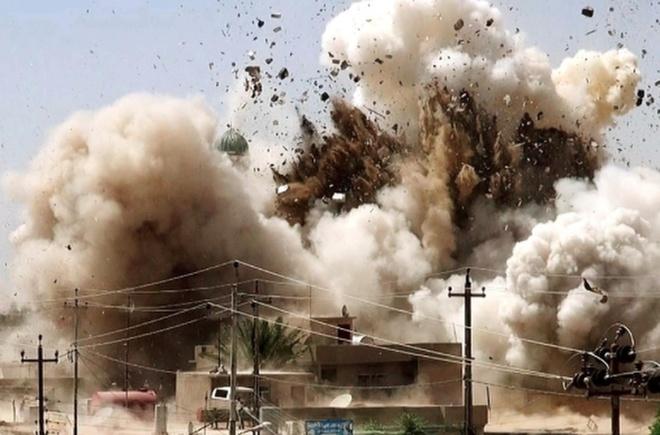 Di tich vo gia cua Iraq va Syria no tung duoi tay IS hinh anh