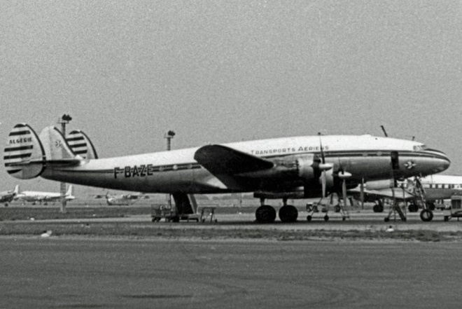 4U9525 roi gan noi phi co Phap tung gap nan hinh anh 1 Một máy bay Lockheed L-749A Constellation. Ảnh: Wikimedia Commons