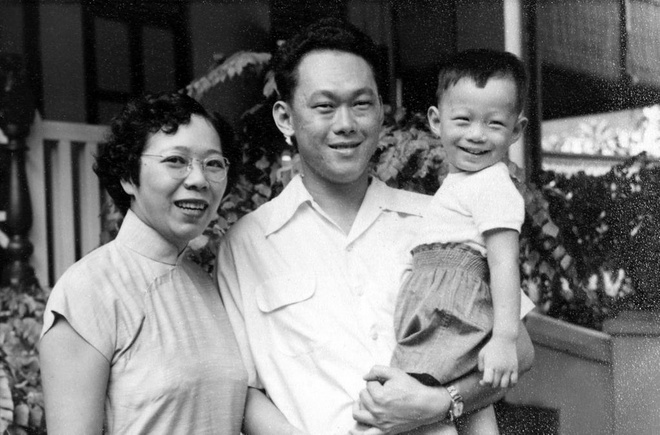 Gia đình của ông Lý Quang Diệu. Ảnh: Twitter