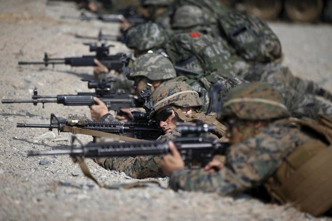 Cuộc tập trận thường niên nhằm nâng cao khả năng ứng phó và năng lực quân sự giữa quân đội Mỹ - Hàn, phòng trường hợp xung đột xảy ra trên bán đảo Triều Tiên.
