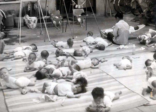 Nu y ta My ly giai nguyen nhan dua 2.700 tre roi Sai Gon hinh anh 2 Những em bé mồ côi tại trung tâm New Heaven.