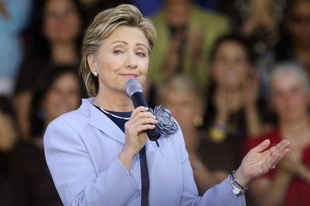 Dau an mang ten Hillary Clinton hinh anh