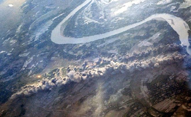 'Phao dai bay' trong chien tranh tai Viet Nam hinh anh 2 B-52 thả bom xuống các căn cứ của quân đội Việt Nam trong chiến dịch Arc Light.