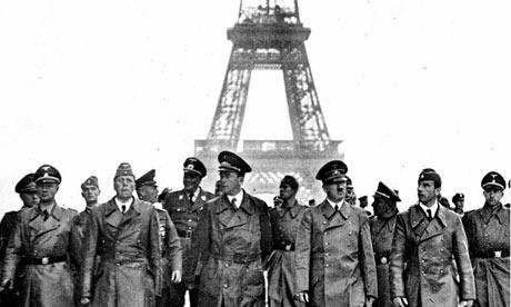 Cac moc quan trong trong The chien thu hai hinh anh 1 Sau khi chiếm đóng Ba Lan vào năm 1939, đội quân của Adolf Hitler đánh chiếm Paris trong 6 tuần.