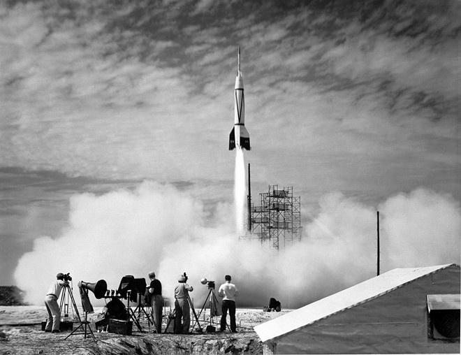 V-2 do nhà khoa học Đức chế tạo đã mở đường cho sự bùng nổ của công nghệ tên lửa đạn đạo. Ảnh: Wikipedia