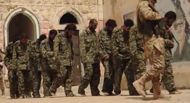 Chien binh thieu nien cua IS hanh quyet 25 linh Syria hinh anh 1