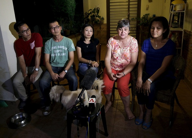 Than nhan MH370: Toi khong tin hinh anh