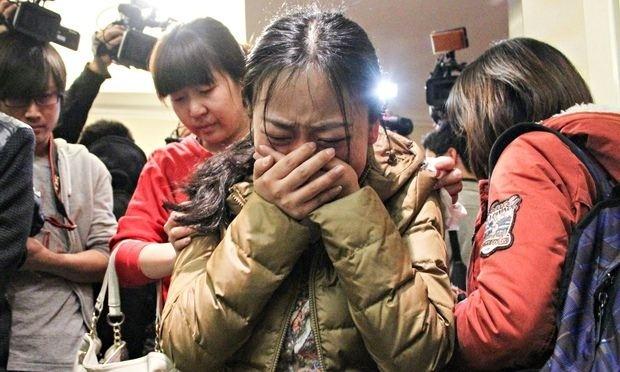 """29/1/2015, chính phủ Malaysia chính thức tuyên bố vụ mất tích của MH370 là """"tai nạn"""" và toàn bộ 239 hành khách và phi hành đoàn trên phi cơ được xem như """"đã chết"""".  Ảnh: Guardian"""