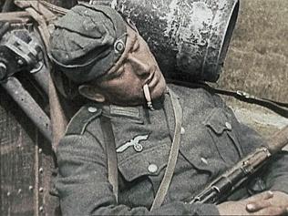 Linh Duc Quoc xa dung ma tuy da khi xung tran hinh anh 1 Một trong những vũ khí bí mật của Đức Quốc xã là các chất gây nghiện. Ảnh:  AdelaideNow