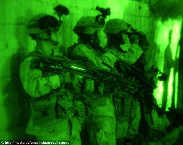 Giay phut cuoi doi cua thu linh cap cao IS hinh anh 3 Thành viên của lực lượng Delta. Ảnh;