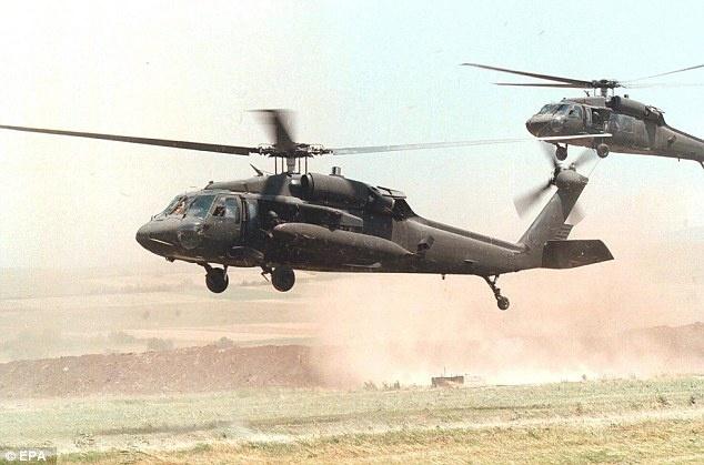 Giay phut cuoi doi cua thu linh cap cao IS hinh anh 2 Delta sử dụng trực thăng Black Hawl trong lần thứ 3 tiêu diệt tên Abu. Ảnh: