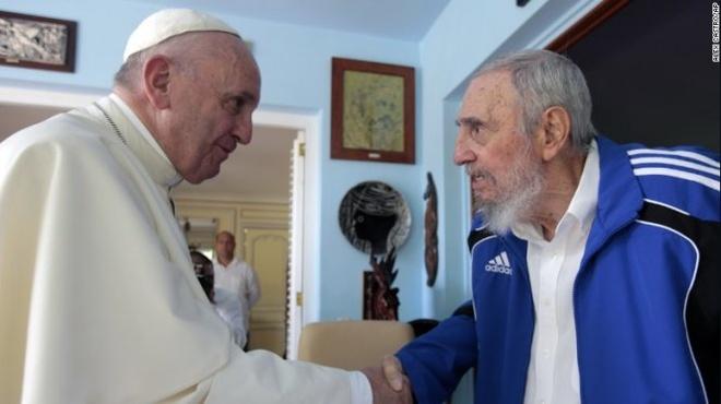Giao hoang trao doi nhung gi khi gap ong Fidel Castro? hinh anh