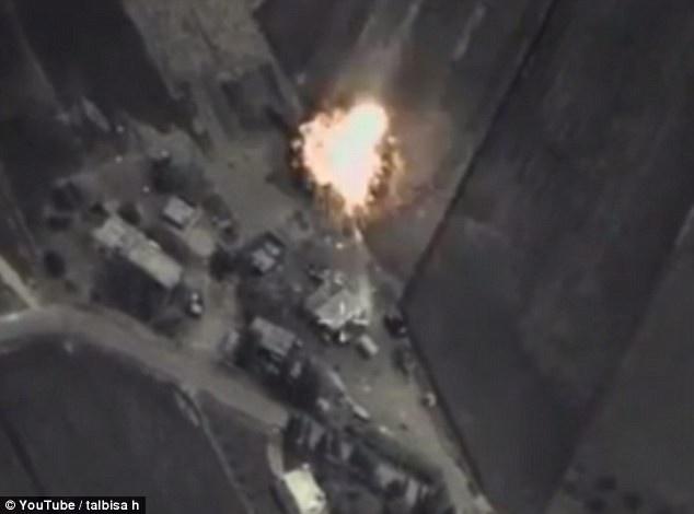 Nga xem xet viec khong kich o Iraq hinh anh
