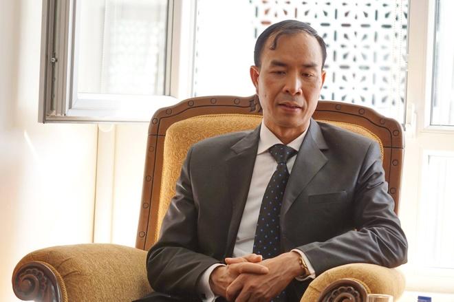 Danh bom kep o Tho Nhi Ky, 95 nguoi chet hinh anh 2 Ông Dương Quý Nam, bí thư thứ nhất tại Đại sứ quán Việt Nam ở Thổ Nhĩ Kỳ. Ảnh: Duy Hiếu