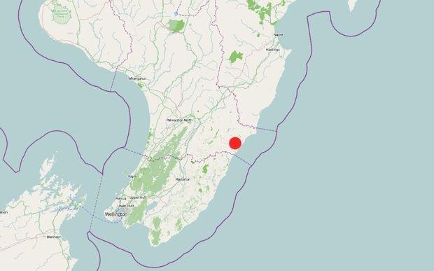Dong dat 5,8 do Richter o New Zealand hinh anh