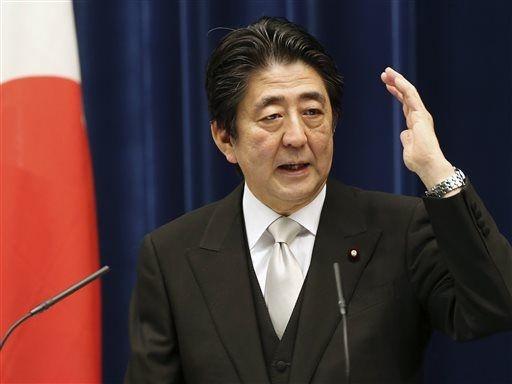 Thu tuong Nhat se neu Bien Dong truoc cac dien dan quoc te hinh anh 1 Thủ tướng Nhật Bản Shinzo Abe. Ảnh: AP