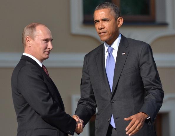 Obama, Putin thao luan ve Syria hinh anh
