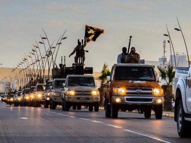 IS lap dai ban doanh o Libya hinh anh 1 Sirte, Libya