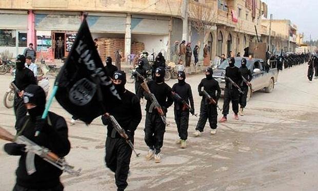 Lo tai lieu ve cach IS xay dung nha nuoc hinh anh 1 Phiến quân IS ở  Raqqa, Syria. Ảnh: AP