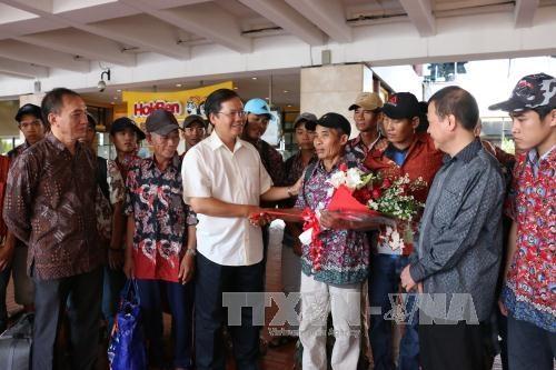 42 ngu dan Viet Nam hoi huong tu Indonesia hinh anh 1