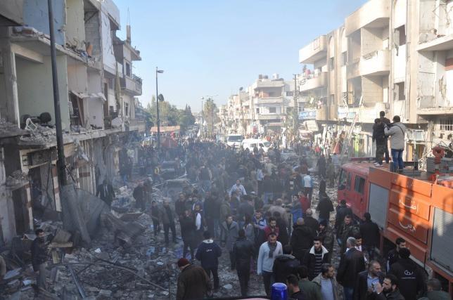 Danh bom kep o Syria, it nhat 32 nguoi thiet mang hinh anh