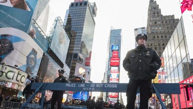 New York huy dong 6.000 canh sat dam bao an ninh don nam moi hinh anh