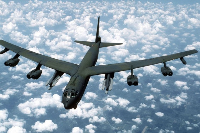 My dieu B-52 bay qua Han Quoc giua cang thang voi Trieu Tien hinh anh