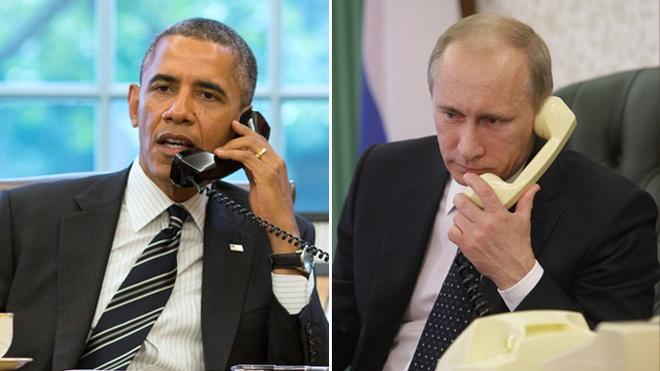 Lanh dao My, Nga dien dam ve khung hoang Ukraine, Syria hinh anh