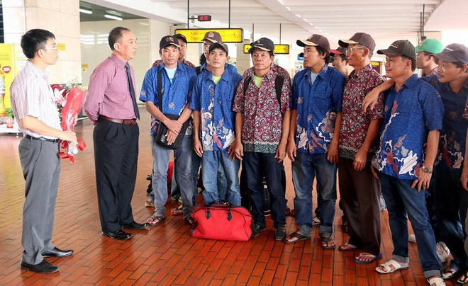 Indonesia trao tra 17 ngu dan Viet Nam hinh anh 1