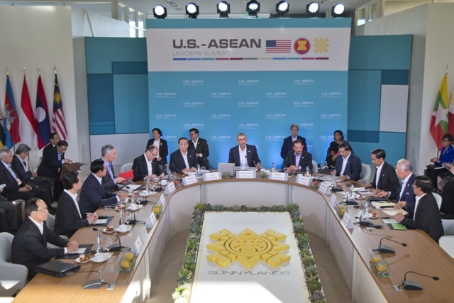 Tuyen bo chung Hoi nghi Cap cao My - ASEAN hinh anh