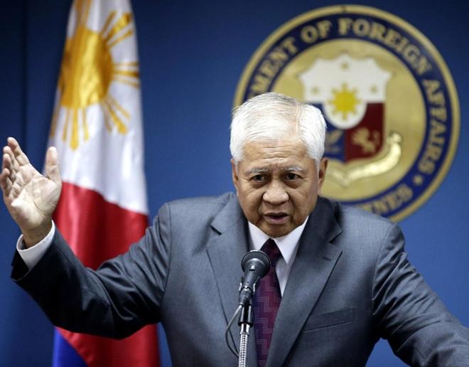 Philippines yeu cau TQ ton trong phan quyet cua toa quoc te hinh anh
